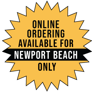 online ordering available - Newport Beach graphic